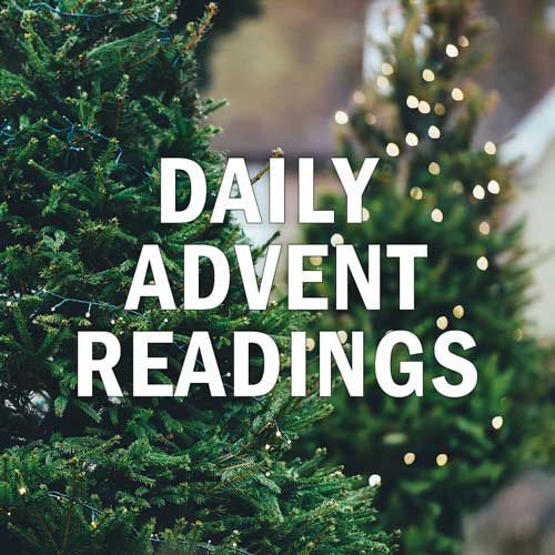 Advent Begins December 1