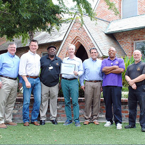 First Presbyterian Awarded Downtown Distinction Award