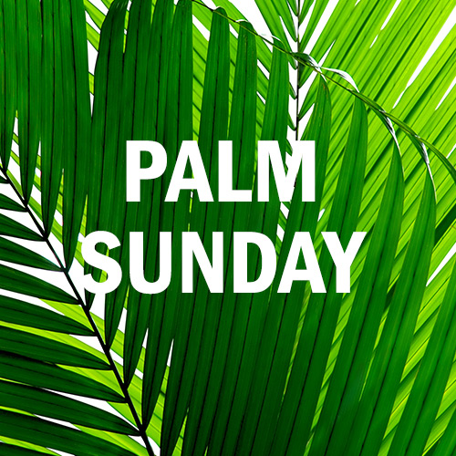 April 9, 2017 - Palm Sunday